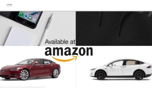 Tesla Amazon shop